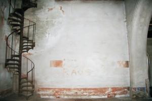 Vretenové schodisko do obytného priestoru v podkroví.